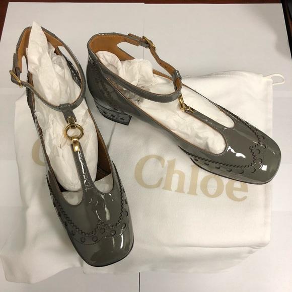 2ca0d2058782 Chloe Shoes - Chloe Perry T-Bar Pumps